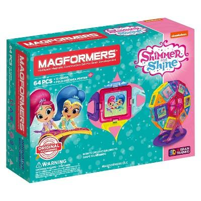 Magformers Shimmer and Shine Carnival Set - 64 Piece