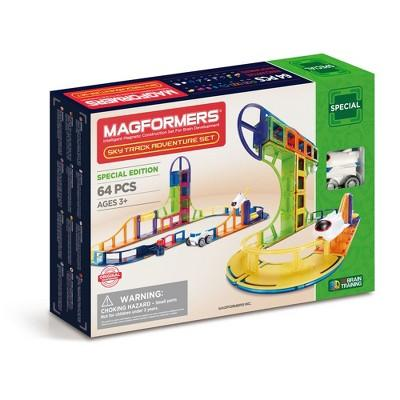 Magformers Special Edition Sky Track Adventure Set - 64pc