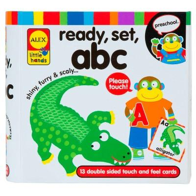 ALEX Toys Little Hands Ready, Set, Touch and Feel Flash Cards, ABC