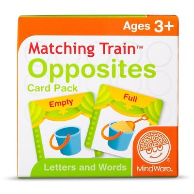 Mindware Learning Train Card Pack Assorted