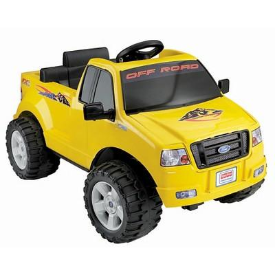 Fisher-Price Power Wheels Ford F150 - Yellow