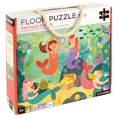 Petit Collage Mermaid Friends Floor Puzzle 24pc