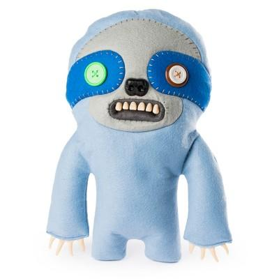 "Fuggler Funny Ugly Monster 12"" Sickening Sloth Deluxe Plush Creature with Teeth - Periwinkle Blue"