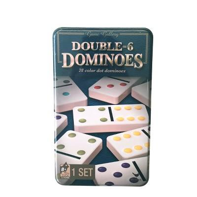 Game Gallery Double 6 Color Dot Dominoes