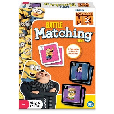 Despicable Me 3 Matching Game