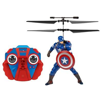Marvel Comics Avengers: Age Of Ultron Captain America 2CH IR RC Helicopter