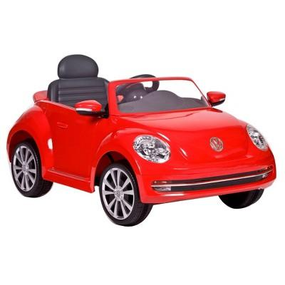 Rollplay 6V VW Powered Riding Toy - Beetle Red