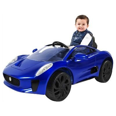 Rollplay Kids' Ride On 6V Jaguar C-X75 - Blue
