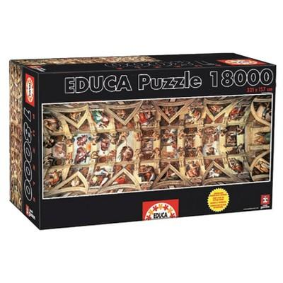 Educa Sistine Chapel 18000pc Puzzle