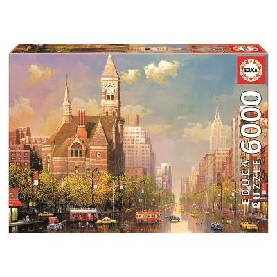 Educa New York Afternoon 6000pc Puzzle