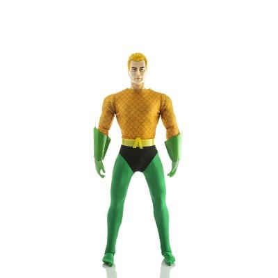 "Marty Abrams Presents Mego DC Comics Aquaman (Classic) 14"" Action Figure (Limited Edition Collector's Item)"