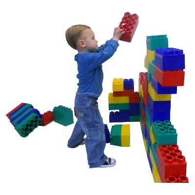 Kids Adventure Jumbo Blocks Standard Set - 96 Piece