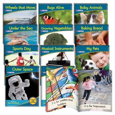 Junior Learning® Phonemic Awareness Readers - Non-Fiction Learning Set