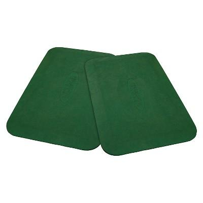 Gorilla Playsets Protective Rubber Mats Swing Set Accessory - Green