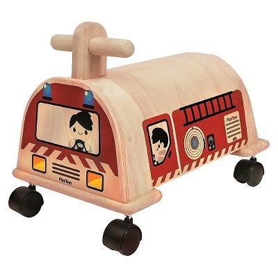 PlanToys® Fire Engine Ride On
