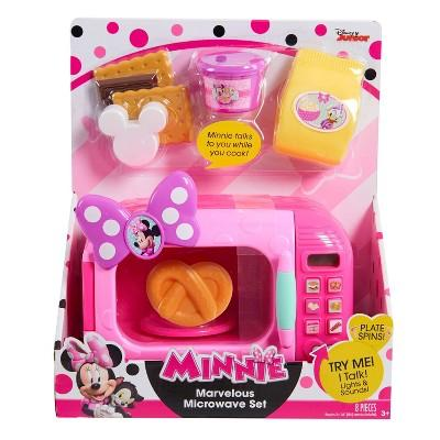 Disney Minnie Mouse Happy Helpers Marvelous Microwave Set