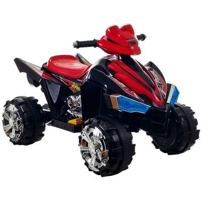 Lil' Rider Sound Effects Pro Circuit Hero 4 Wheeler ATV - Red