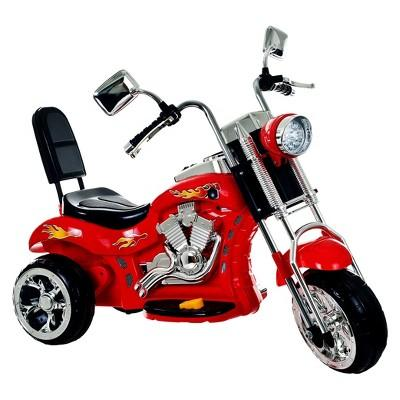 Trademark Global Rocking 3 Wheel Chopper - Red