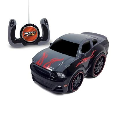 Jam'n Products Gear'd Up Chunky Ford Mustang Remote Control Vehicle, Gray