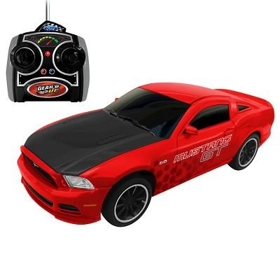 Jam'n Products Gear'd Up Ford Mustang GT Remote Control, Red 1:24 Scale