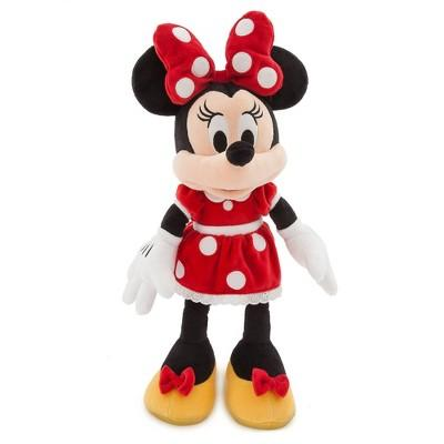 Disney Mickey Mouse & Friends Minnie Mouse Medium 18'' Plush - Red - Disney Store at Target Exclusive