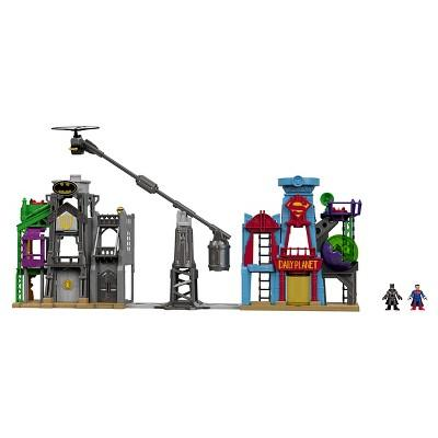 Fisher-Price Imaginext DC Super Friends Super Hero Flight City Playset