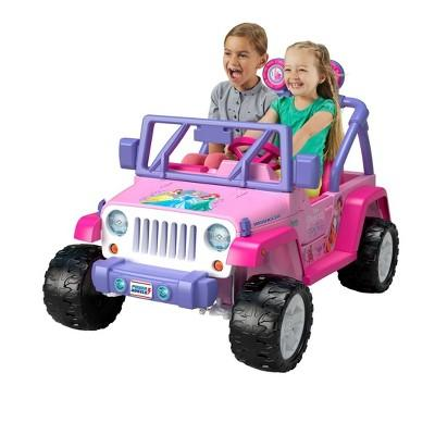 Fisher Price Power Wheels Disney Princess Jeep Wrangler
