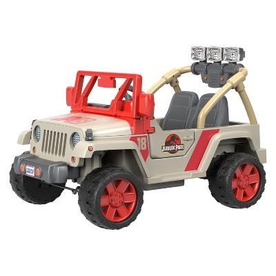 Fisher-Price Power Wheels Jurassic Park Jeep Wrangler