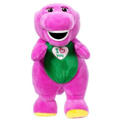 "Fisher-Price Barney and Friends Barney 10"" Plush Doll"