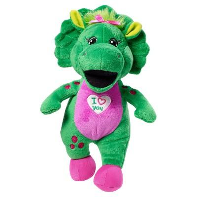 "Fisher-Price Barney and Friends Baby Bop 10"" Plush Doll"