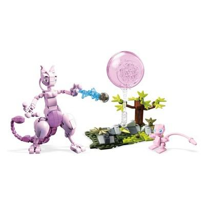 Mega Construx Pokemon Mew vs. Mewtwo Clash - 341pc