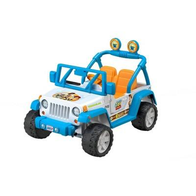 Fisher-Price Power Wheels Disney Pixar Toy Story Jeep Wrangler