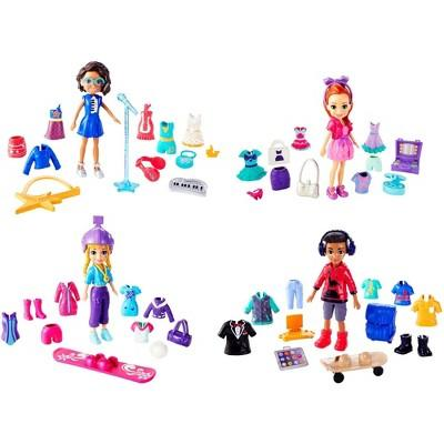 Polly Pocket Squad Style Super Pack with 4 Dolls