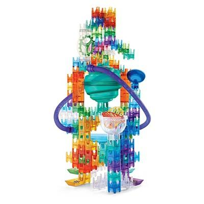 MindWare Q-Ba-Maze Ultimate Stunt Set Marble Run