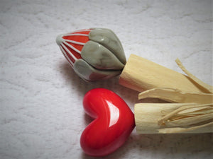 Adjani's Heart&Protea Spoon and Knife set