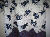 Batik Blue Border Dress