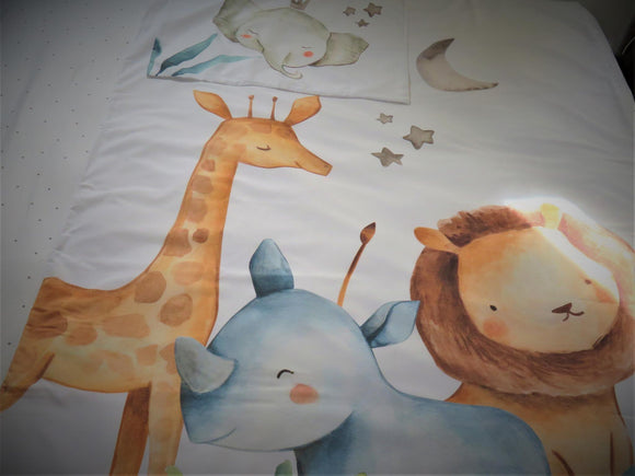 Bongolie Bedding - Wild Animals 1 - Single/Small Double