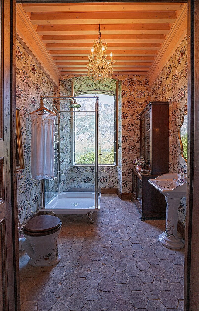 chateau gudanes before and after bathroom renovations