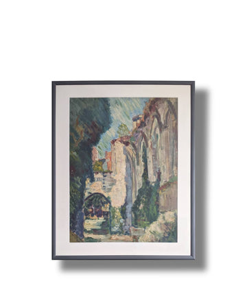 impressionist jean lasnier large scale french painting