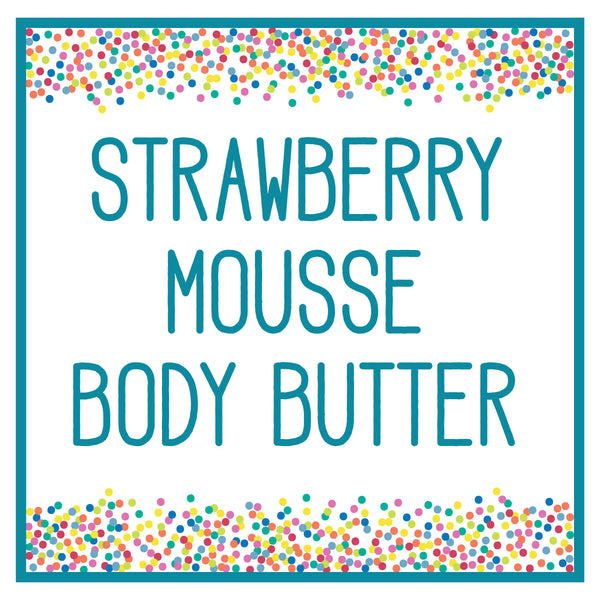 Strawberry Mousse POP! Butter