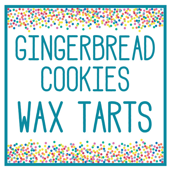 Gingerbread Cookies Wax Tart 3 oz