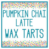 Pumpkin Chai Latte Wax Tart 3 oz