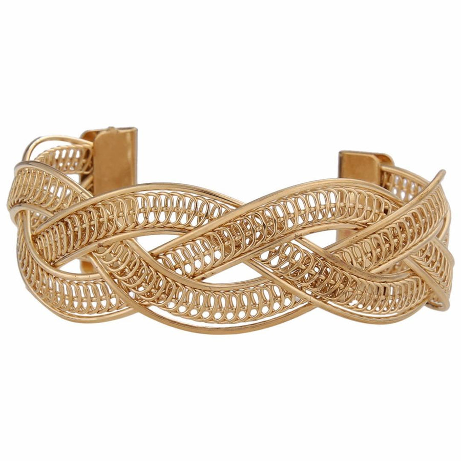 Cross Metal Bangle Cuff Indian Trend
