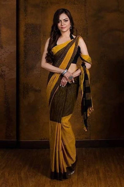 Handloom Soft Cotton Saree