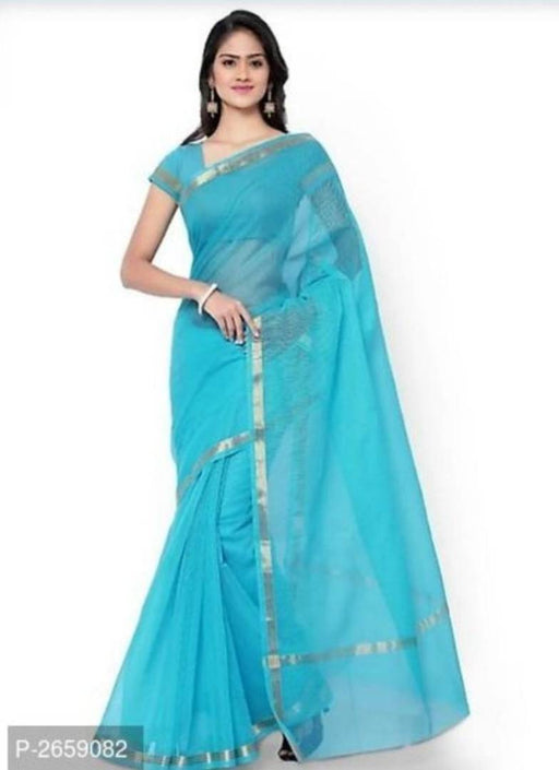 Kota Doria Silk Cotton Saree