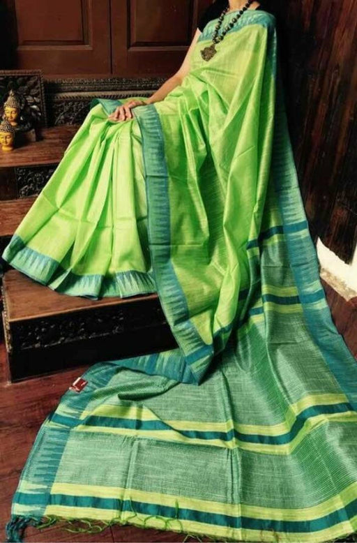Kota Viscose Temple Border Saree