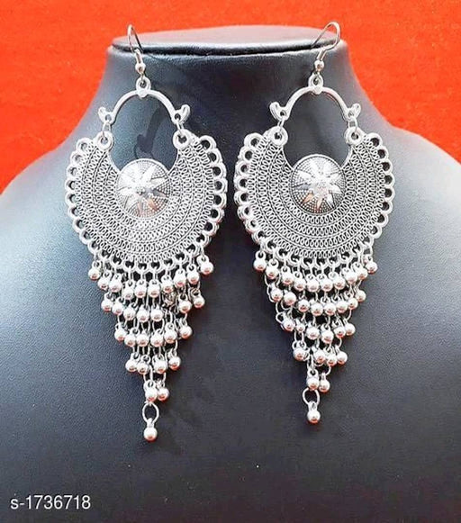 Trendy Designer Oxidised Earrings