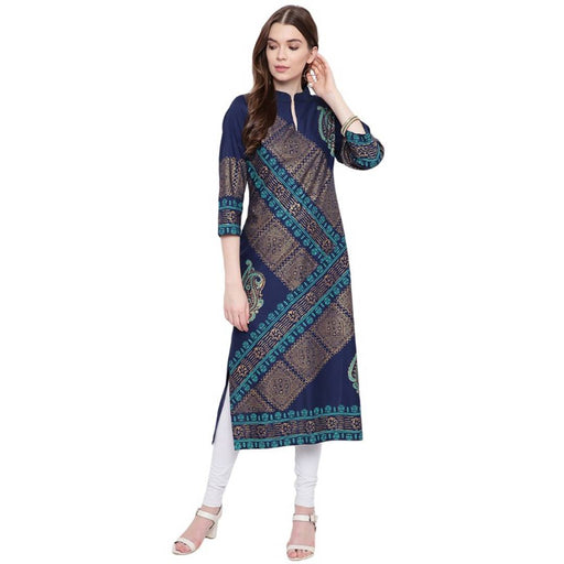 Women's Stylish Rayon Straight Kurta