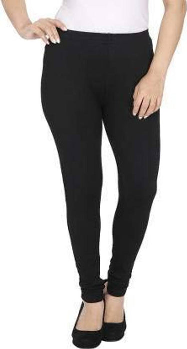 Royal Women's woolen leggings for winter,thermal warm bottom wear free size pack of 2 (black&white)