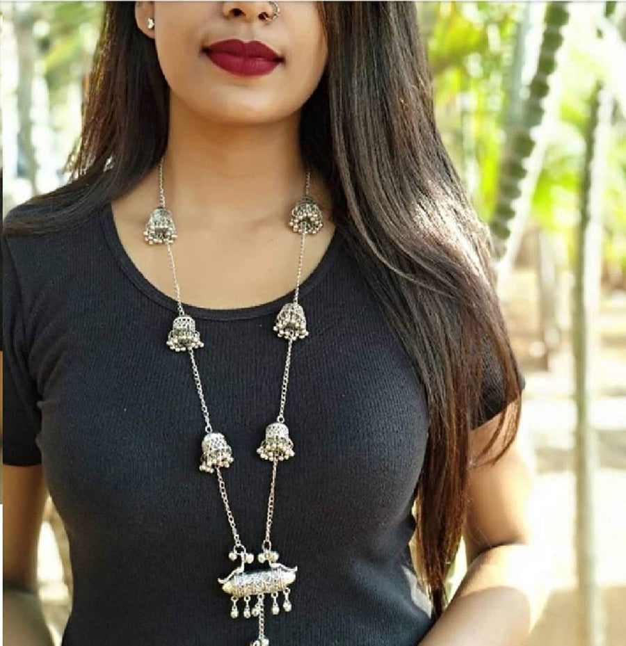 Trendy Jhumki Pendant Chain For Women